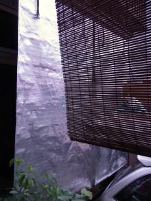 鴻巣の整体院ささき 整体よもやま話-遮光シート