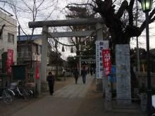 鴻巣の整体院ささき 整体よもやま話-鴻神社入口
